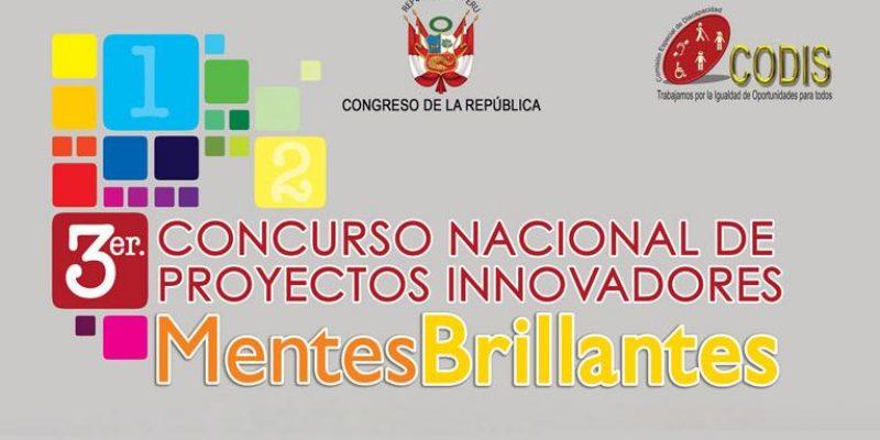 Convocatoria Perú- III  Concurso Nacional de Proyectos Innovadores para Personas con Discapacidad 2010