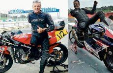 Alan Kempster el motociclista de un brazo y una pierna