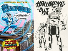 El superheroe sordo de Marvel, Blue Ear