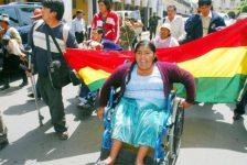Bolivia inicia capacitación de personas con discapacidad