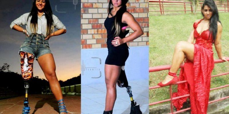 Camille Rodrigues modelo y nadadora paralimpica