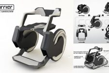 Carrier – Nuevo concepto de silla de ruedas multifunciones