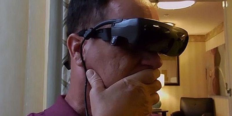 Ciego vuelve ver gracias a novedosas gafas