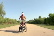 Corre maratones con hija con Sindrome de Down