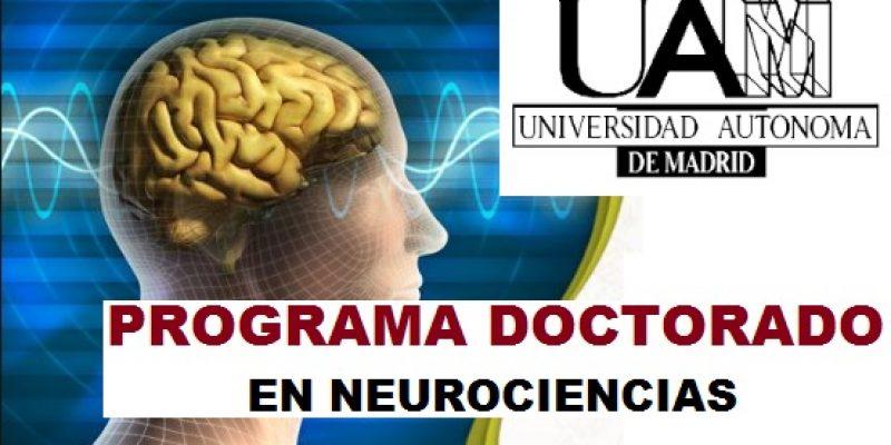 Doctorado en Neurociencia Madrid