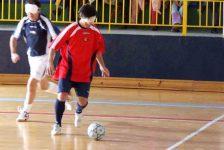 Fútbol sala adaptado para invidentes