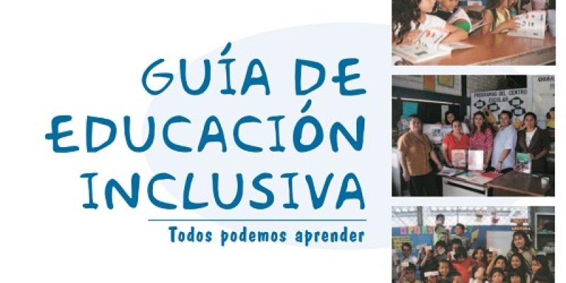 Educacion inclusiva guia para docentes
