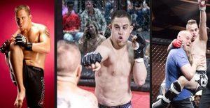El luchador de artes marciales mixtas con Síndrome de Down