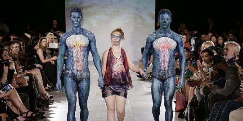 Modelo con síndrome de Down debuta en la Fashion Week
