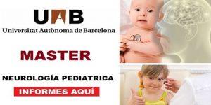 Neurología Pediátrica Master Barcelona