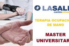 Master Terapia ocupacional de mano Madrid
