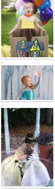 Niña con sindrome de Down posa como princesa en Disney