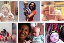 Adoptar bebe con sindrome de Down lleno de gozo a pareja