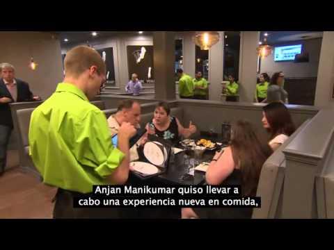El primer restaurante con personal sordo
