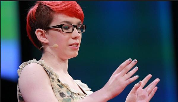 Rosie King una comediante con autismo