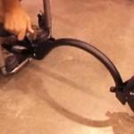 Silla de ruedas todo terreno con rueda removible