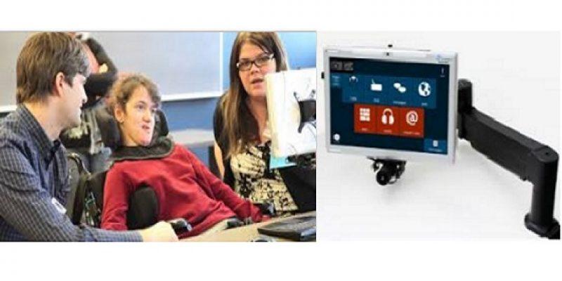 Tablet que puede controlarse con la vista