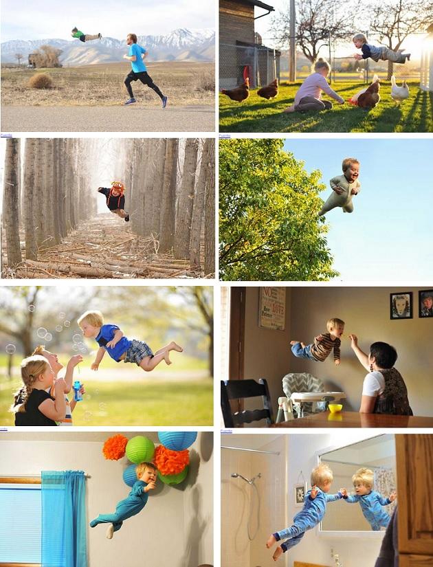 Wil el niño con Sindrome de Down que puede volar